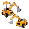 Image of Kids Electric 12v Ride-On Excavator Digger with Functional Levers - Kids Car Sales