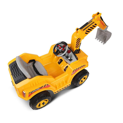 Kids Electric 12v Ride-On Excavator Digger with Functional Levers - Kids Car Sales