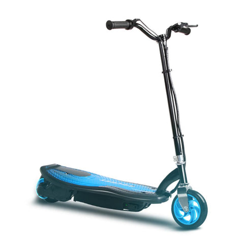 Kids Electric 12v Ride-On Scooter in Blue