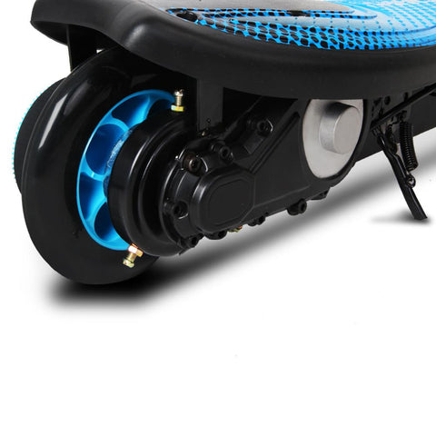 Kids Electric 12v Ride-On Scooter in Blue - Kids Car Sales