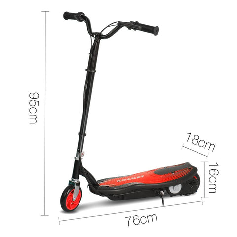 Kids Electric 12v Ride-On Scooter in Red