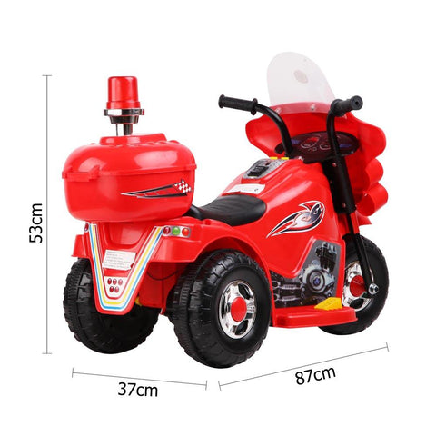 Kids Electric 6v Red 3-Wheel Ride-On Motorbike - Kids Car Sales