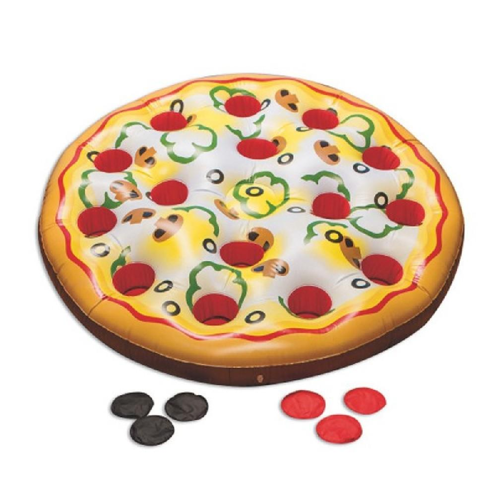 Kids Inflatable Jumbo Pizza Toss Game - Kids Car Sales