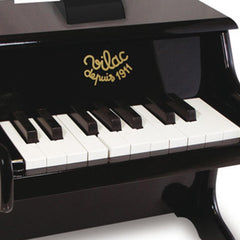 Kids Mini Black Piano With Scores by Vilac