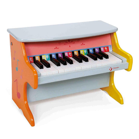 Kids Mini Colourful Piano by Classic World - Kids Car Sales