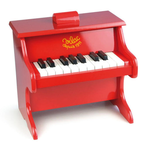 Kids Mini Red Piano by Vilac - Kids Car Sales