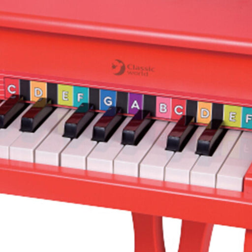 Kids Mini Red Star Piano by Classic World - Kids Car Sales