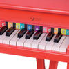 Image of Kids Mini Red Star Piano by Classic World - Kids Car Sales
