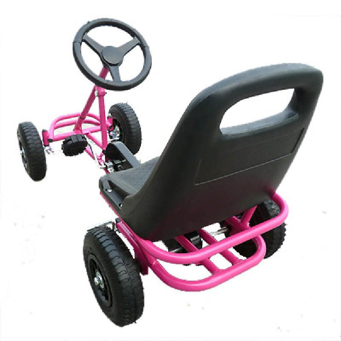 Unbranded Kids Ride On Bariloche Outdoor Pedal Go Kart in Various Colours