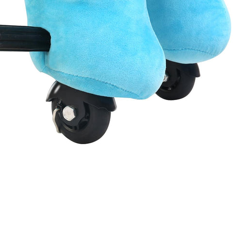 Kids Ride on Blue Elephant with Wheels - Kids Car Sales
