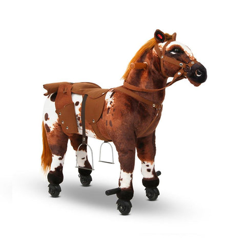 Kids Ride on Pedal Toy Pony with Wheels - Various Styles - Kids Car Sales