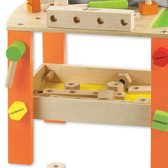 Kids Wooden Tool Bench Kit by Classic World