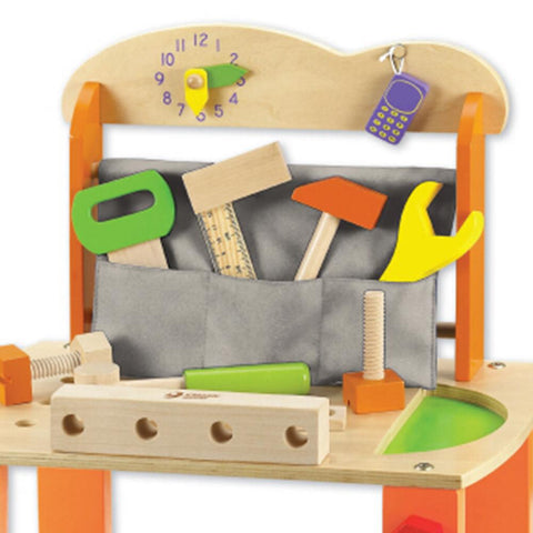 Kids Wooden Tool Bench Kit by Classic World - Kids Car Sales