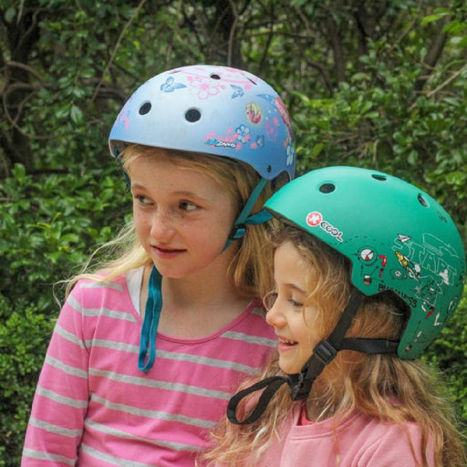 Kidzamo Kidzamo XCOOL Graphic Printed Helmet for Young Bikers
