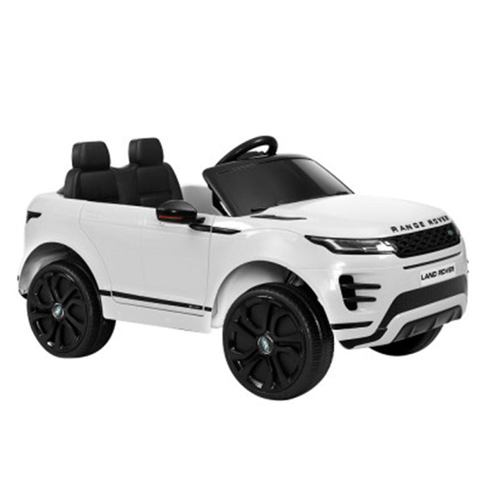 Unbranded Licensed Land Rover 12V Electric Kids Ride-On Car - White RCAR-EVOQUE-LS-WH