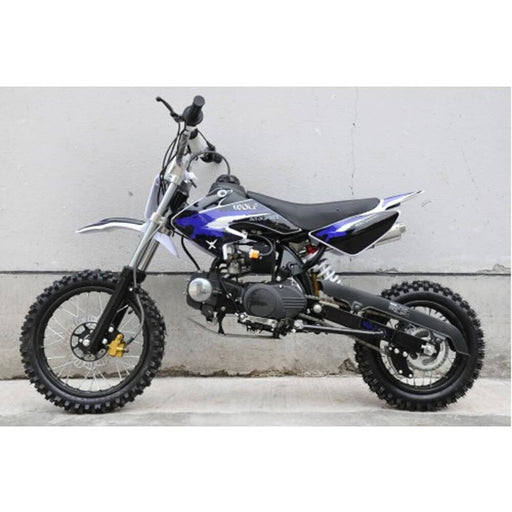 Motoworks Motoworks 125cc Petrol Powered 4-Stroke Kids Dirt Bike - Blue MOT-125DB-BLU