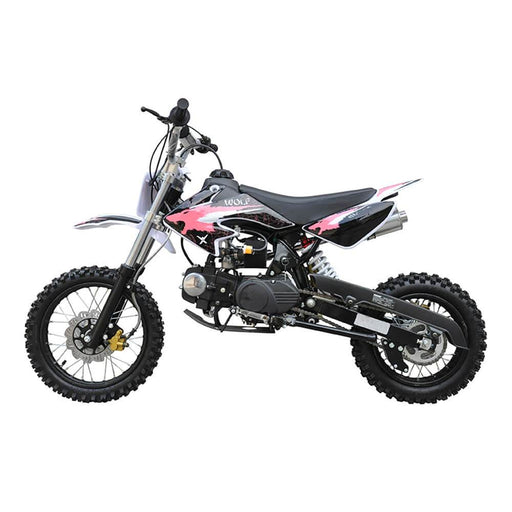 Motoworks Motoworks 125cc Petrol Powered 4-Stroke Kids Dirt Bike - Pink MOT-125DB-PIN