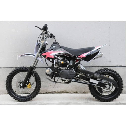 Motoworks Motoworks 125cc Petrol Powered 4-Stroke Kids Dirt Bike - Red MOT-125DB-RED