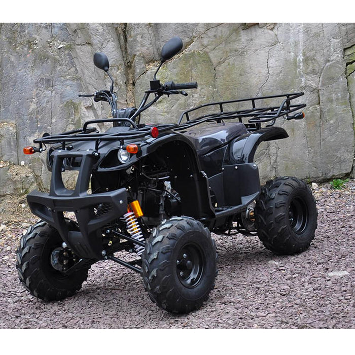 Motoworks Motoworks 150cc Petrol Powered 4-Stroke Farm GY6 Quad Bike - Black MOT-150ATV-FA-BLA