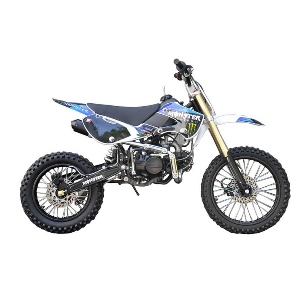 Motoworks Motoworks 150cc Petrol Powered 4-Stroke Big Foot Kids Dirt Bike - Blue MOT-150BFDB-BLU
