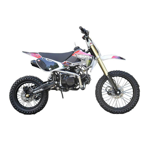 Motoworks Motoworks 150cc Petrol Powered 4-Stroke Big Foot Kids Dirt Bike - Pink MOT-150BFDB-PIN