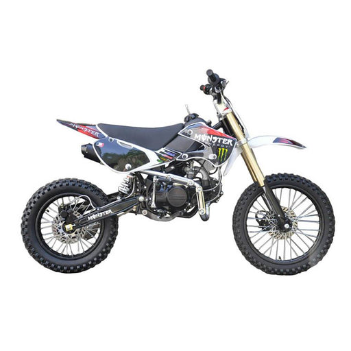 Motoworks Motoworks 150cc Petrol Powered 4-Stroke Big Foot Kids Dirt Bike - Red MOT-150BFDB-RED