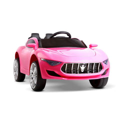 Maserati Inspired Pink 12v Ride-On Kids Car