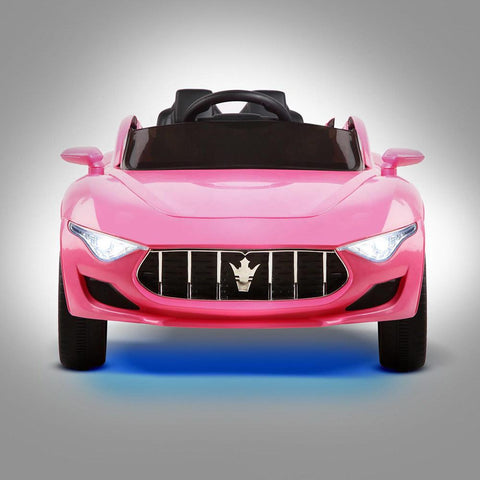 Maserati Inspired Pink 12v Ride-On Kids Car - Kids Car Sales