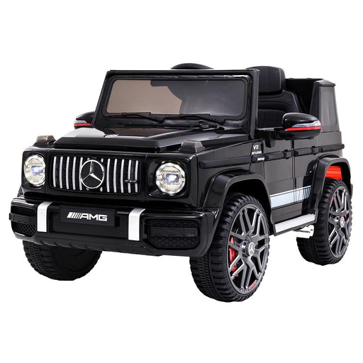 Unbranded Mercedes Benz AMG G63 Licensed Black 12v Ride-On Kids Car RCAR-AMG63-BK