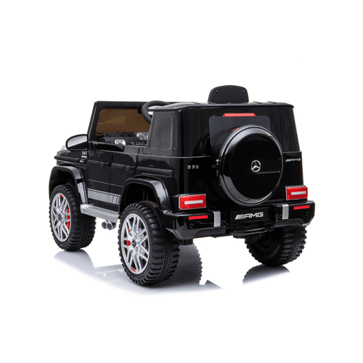 Mercedes Benz G63 AMG 12v Kids Ride-On SUV w/ Remote - Black