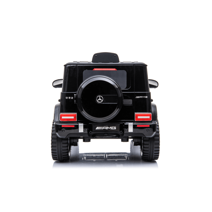 Mercedes Benz G63 AMG 12v Kids Ride-On SUV w/ Remote - Black - Kids Car Sales