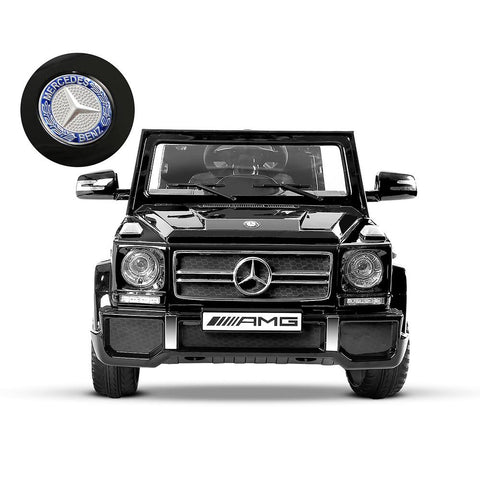 Mercedes Benz G65 Licensed Black 12v Ride-On Kids Car