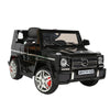Image of Mercedes Benz G65 Licensed Black 12v Ride-On Kids Car - Kids Car Sales