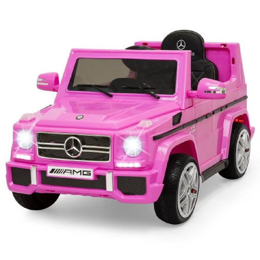 Mercedes Benz G65 Licensed Pink 12v Ride-On Kids Car - Kids Car Sales