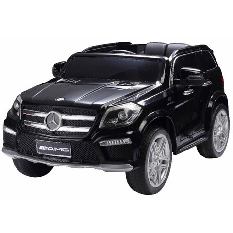 Mercedes Benz GL63 Licensed Black 12v Ride-On Kids Car