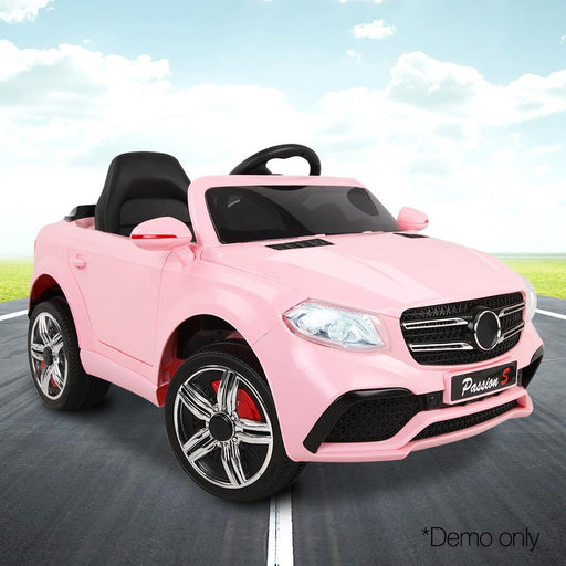 Unbranded Mercedes Benz ML63 Inspired Pink 12v Ride-On Kids Car RCAR-ML63-PK