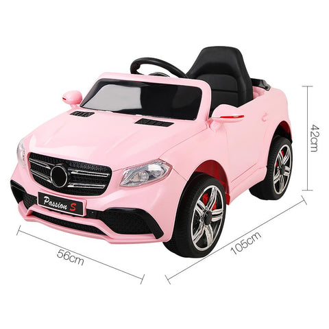Mercedes Benz ML63 Inspired Pink 12v Ride-On Kids Car
