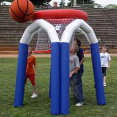 Monster Sized 3m Tall Inflatable Basketball Game