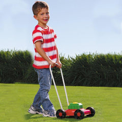 Orbit Push Along Mighty Mower with Durable Steel Body & Sounds