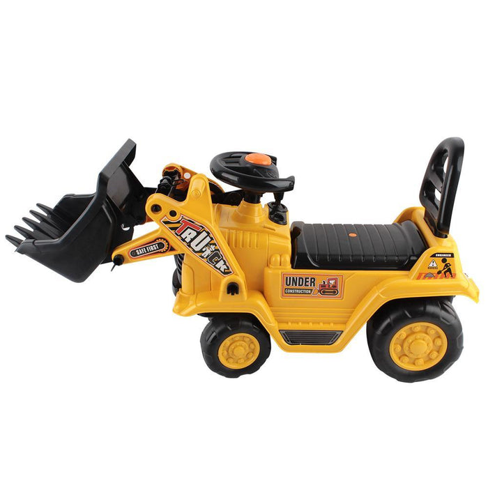 Unbranded Kids Ride-On Yellow Loader Digger Bulldozer DSZ-PLAY-CAR-BULLDOZER