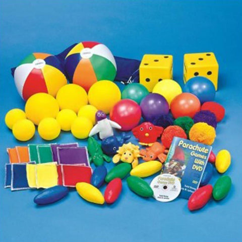 Parachute Accessory Pack With Balls, Dice & More - Kids Car Sales