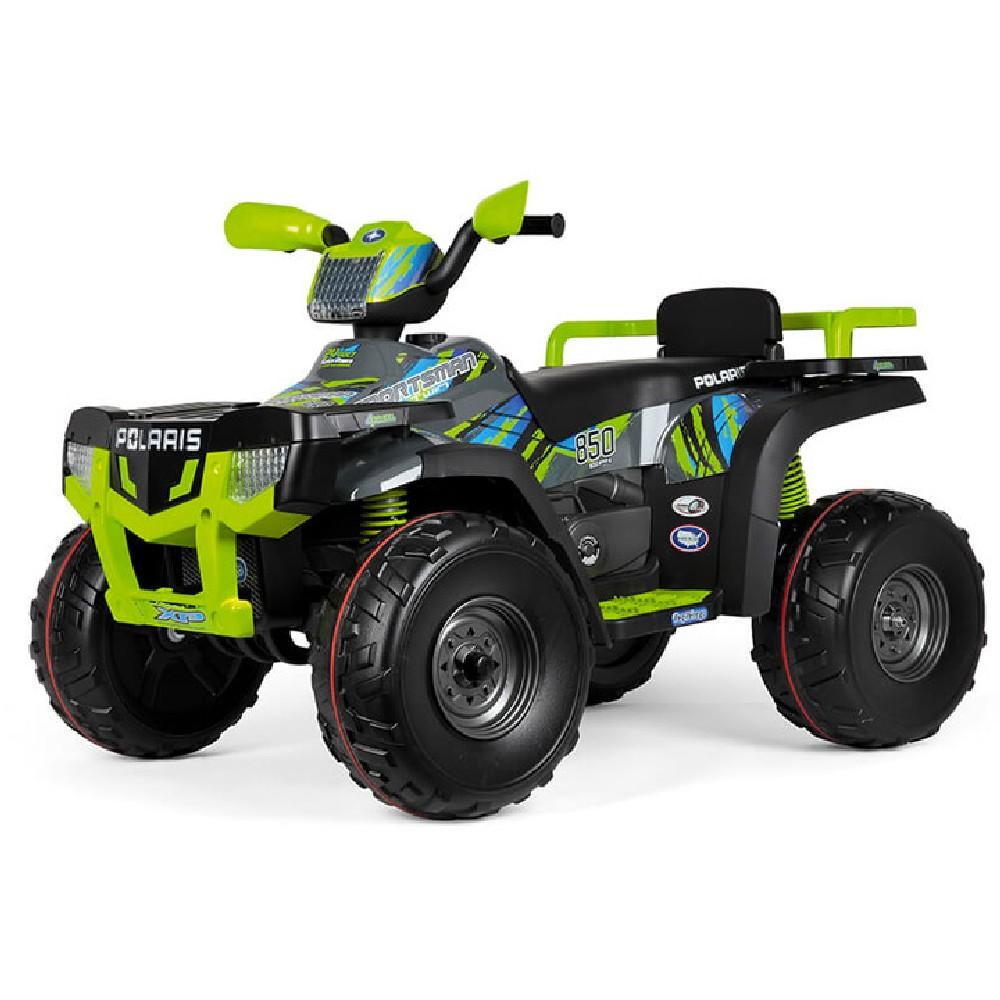 Peg Perego Polaris Sportsman 850 Lime 24v Off Road Kids Car - Kids Car Sales