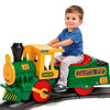 Image of Peg Perego Santa Fe Express 6v Ride-On Kids Train & Track - Kids Car Sales