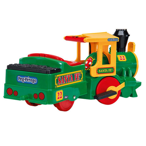 Peg Perego Santa Fe Express 6v Ride-On Kids Train & Track - Kids Car Sales