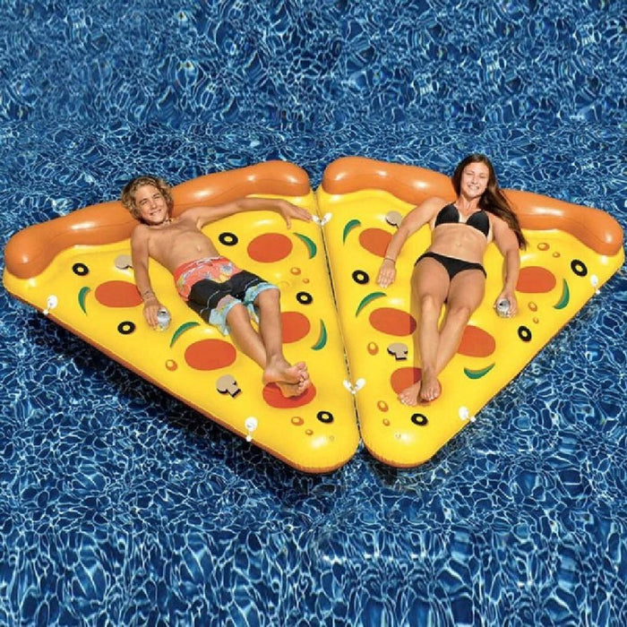 Pizza Slice Mattress Pool Float Ride On Toy - Kids Car Sales
