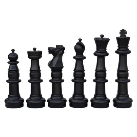 Plastic 90cm Giant Premium Chess, Checkers and Mat Package