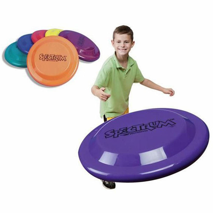 Plastic Frisbees Multi Coloured Flying Discs - Pack of 6 - Kids Car Sales