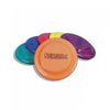 Image of Plastic Frisbees Multi Coloured Flying Discs - Pack of 6