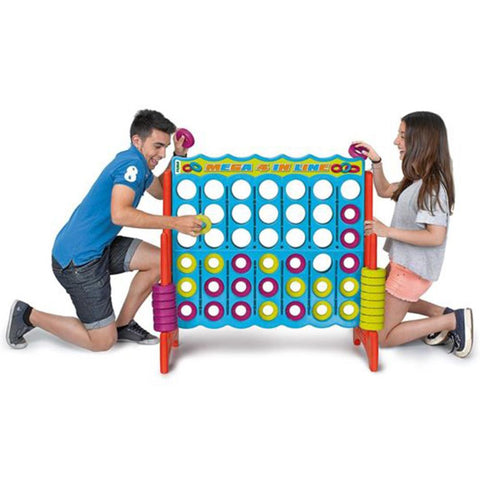 Plastic Mega 4 Supersized Giant Connect 4 Style Game 117cm x 121cm