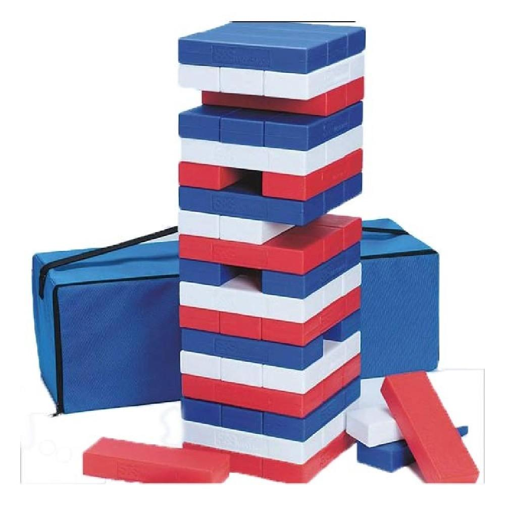 Plastic Premium Coloured Tumbling Blocks - Kids Car Sales